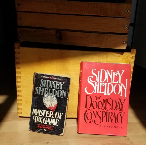 2-Book Bundle set Sidney Sheldon